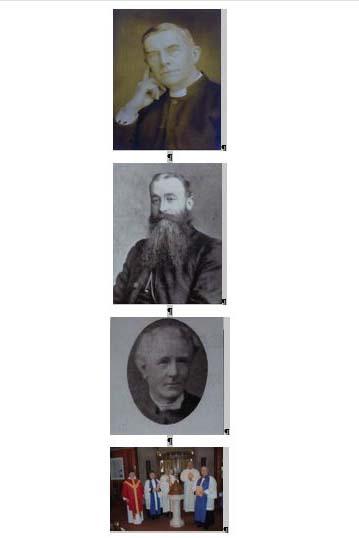 Lives of Individual Rectors